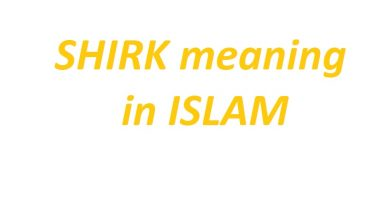 shirk in islam